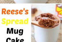 Reese's Spreads Pairings / Recipes I'd love to try using Reese's Spreads!  I received a jar free in my VoxBox from Influenster and now I'm hooked.