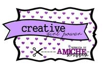 AmicheSCRAPpose - Creative, Girl Power, Made in Italy / Ormai sono tanti anni che navighiamo nel web, ma ogni giorno scopriamo nuovi tesori, nuove creative che ci danno ispirazione, che ci spronano a provare nuove cose, che ci riempiono gli occhi con cose bellissime. Fatte soprattutto al 100% con amore soprattutto.  Ogni settimana una craft girl si racconterà e ci mostrerà le sue meraviglie.  http://amichescrappose.blogspot.it