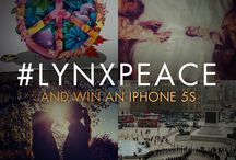 #MakeMoments Not War - Lynx Peace / www.lynxpeace.com/moments  / by Lynx