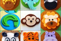 Fondant Toppers / Cute fondant toppers