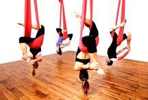 yoga aéreo Unnata / Tratamos temas relacionados con el yoga aéreo, en concreto con el estilo Unnata