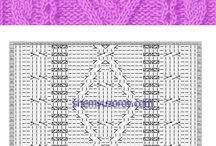 Knit graph patterns