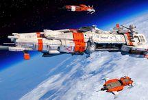 spaceships scifi