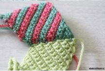 triángulo al crochet