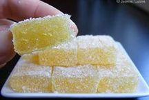 pâtes de fruits citron