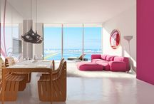 INTERIOR / Paraiso Bayviews condo will feature chic, move-in ready contemporary residences with sheer glass balconies that offer stunning views of Biscayne Bay and the surrounding areas, adding a new meaning to Paradise.