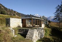 Rustic Homes / Gorgeous rustic houses sprawled out on beautiful properties. / by One Kindesign .
