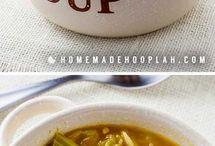 Weightless soup