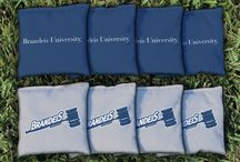 Brandeis University Judges Cornhole Boards, Tailgating Gear and Man Cave Decor