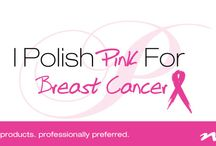 I Polish Pink For Breast Cancer / NSI supports individuals fighting breast cancer, survivors and their loved ones. We are sharing breast cancer nail art for inspiration and empowering awareness.