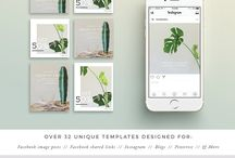 Instagram Template Inspiration