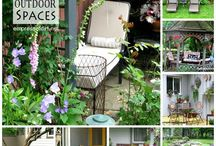 Outdoor Spaces / Great ideas for outdoor areas / by Arlene Flores