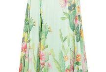 flowy gowns