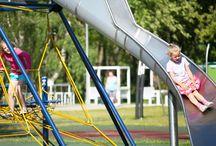Plac zabaw w Rosevia Resort / Największy, najbezpieczniejszy plac zabaw nad polskim morzem w Przylądek Rosevia Resort, między Władysławowem, a Jastrzębia Górą.