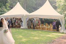 Wedding Ceremony Marquee / Marquee hire for outdoor wedding ceremonies - www.queensberryevents.co.uk