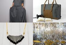 My etsy treasuries / precious finds, unique jewelry, wall decoration, handmade gifts, interior accessories, modern graphics