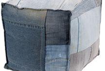 Idées récup jeans