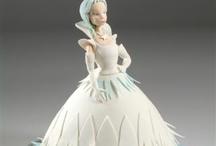 Barbie,  Doll Dress cake