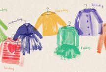 Mimi & Fergus Illustrations /  See the illustrations develop.