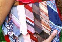Riciclare vecchie cravatte / Cravatta da buttare? Assolutamente no. Ecco i modi più originali per riciclare cravatte usate.