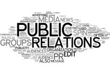 public relations interests / My interests in public relations, events and any human interests.