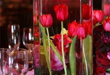 Wedding Centrepiece - tulips
