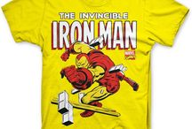 Official Marvel Comics t-shirts / Inspired by your favourite Marvel Comics covers these t-shirts feature classic characters such as Thor, Iron Man, Hulk and Spider-Man.  Most tees are available on hoodies, sweaters and in women's cut t-shirts too!  http://www.8ball.co.uk/tag/marvel-comics