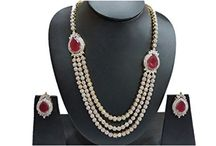 Wedding Party Wear Bollywood Indian Women Jewelry Set