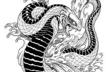 Snake - Tattoo Designs