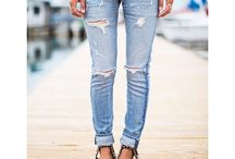 """✮✮DeNim✮✮ / """"I have often said that I wish I had invented blue jeans: the most spectacular, the most practical, the most relaxed and nonchalant. They have expression, modesty, sex appeal, simplicity - all I hope for in my clothes."""" - Yves Saint Laurent  / by Lally Kings"""