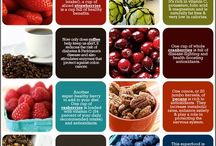 """Ah-MAZING Infographics / Gorgeous collection of infographics that making this whole """"getting healthy"""" so much more fun!"""