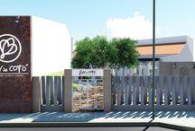 La Cotonera / Creación de la identidad visual y el diseño de interiores para un restaurante en Valencia. Diseñado en 2014 por MSE Project
