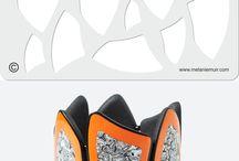 Polymer clay bracelet / des bracelets en fimo