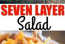 Salada De Sete Camadas