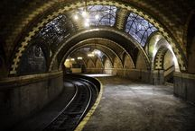 Abandoned Subway Stations