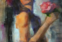 Giclee Prints by MarilynsCanvas / Giclee Prints--fine art reproductions--of original paintings by MarilynsCanvas.