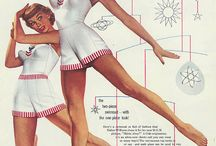 Women's vintage advertising from the '50's, '60's and early '70's. / Women's Vintage Advertising from the 1950's and 1960's and 1970's. Including swimsuits, smoking and fashion.