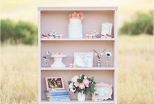 I Could Watch TV with You Forever - First Wedding Anniversary Shoot / as featured on http://www.thesoutherncaliforniabride.com/2015/09/1-year-anniversary-tv-inspired-shoot.html  Vintage Rentals: Party Pieces by Perry  Photography: Jennifer Fujikawa Photography Paper Flowers: Blooming Backdrops Cakes and desserts: The French Confection Co Mini Donuts: Sweet Grasse Co Chalk Art: Wise Chalk Studio Hair and Makeup: Beauty with Grace Lee