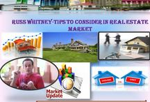 Russ Whitney- Tips to Consider in Real Estate Market / During a buyer's market, there are more homes for sale than people to buy them.A skilled real estate agent can help you compare like home values and how the sales played out.