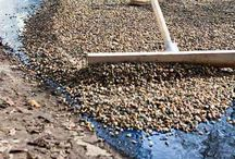 Decorative Driveways / Gravel chippings and decorative aggregates on driveways