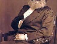 when beards were not fashionable / Old school beard men
