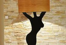 modern wooden lamp / Modern wooden lamp