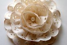 MOÑOS, Flores, Diademas de liston