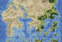 Hărți și lumi imaginare.