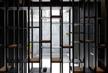 Black Entrance wall