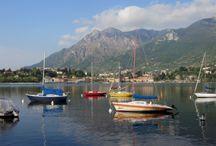 Lac de Côme / Petite, je rendais visite à mes grand-parents à Lecco, sur les rives du lac de Côme, j'ai gardé de ses visites un immense amour pour la région...