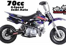 SSR 70C Pit Bike (Mini Dirt Bike) / BEST 70CC BIKE SSR 70C Mini Dirt Bike 70cc is one of our most popular bikes. It features a 4-Speed Semi Automatic Transmission for clutchless shifting, Disc Brakes and a low 23 inch Seat Height. CARB Certified for sale in CA - RED STICKER