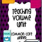 Teaching Math- Volume & Capacity