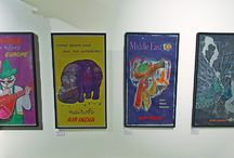 Vintage Posters / Heritage Transport Museum showcases a large collection of original airline posters that were used to promote airline destinations and were displayed in airline ticket offices, airports and travel agencies.