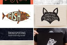 Lettering inside shapes